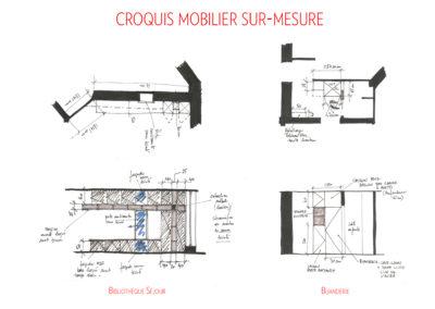 projet-archi-appt-paris-Ternes-croq mobilier1