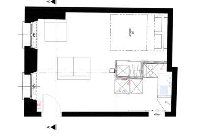 projet-archi-optimisationdespace-cuisine-appt-marais_existant