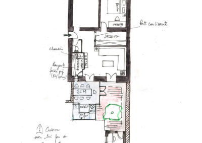 Extension-architecture-veranda-projet esquisse2-boulogne