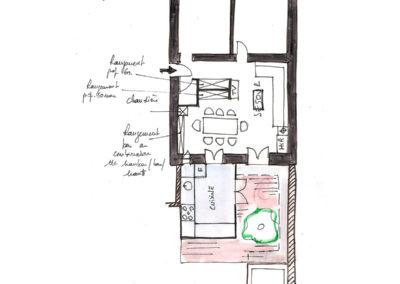 Extension-architecture-veranda-projet esquisse3-boulogne