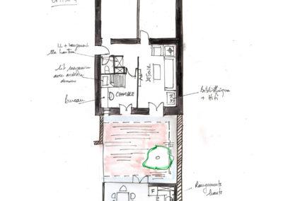 Extension-architecture-veranda-projet esquisse4-boulogne