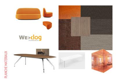 bureau- archi conception-planche materiaux-mobilier-tertiaire-paris-rivoli